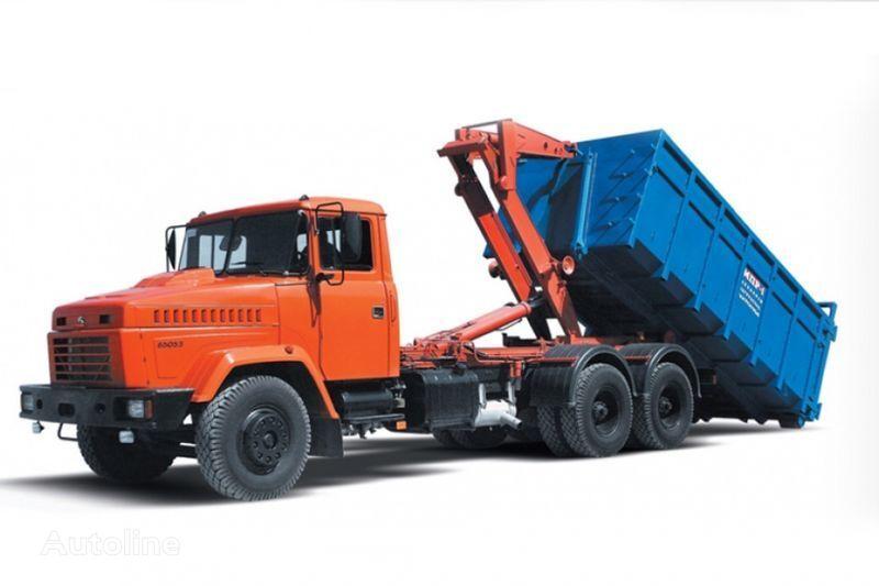novi KRAZ 65053 MPR-1  kamion rol kiper