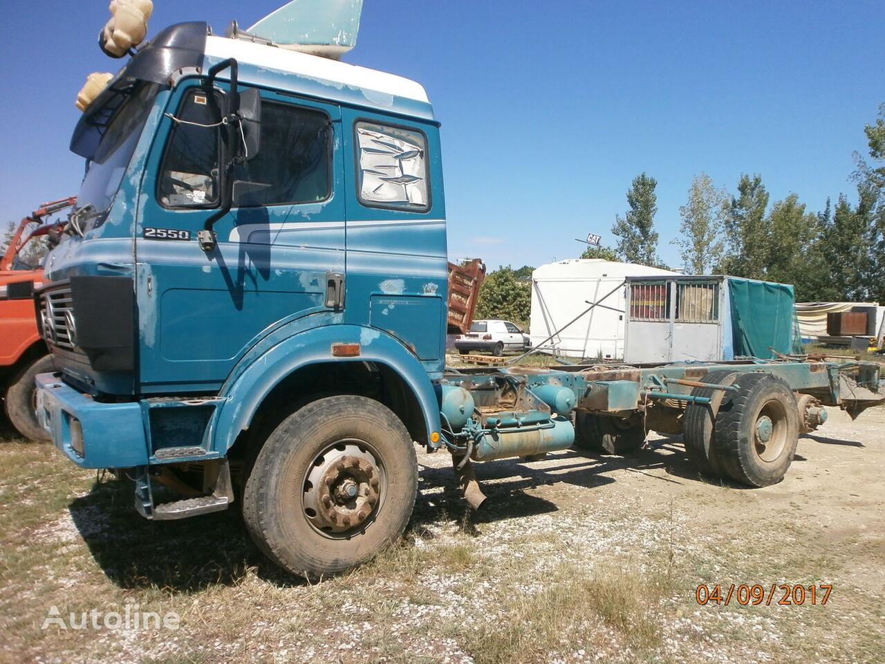 MERCEDES-BENZ 2550 EKTOS KINETERHA+SASMAN kamion rol kiper