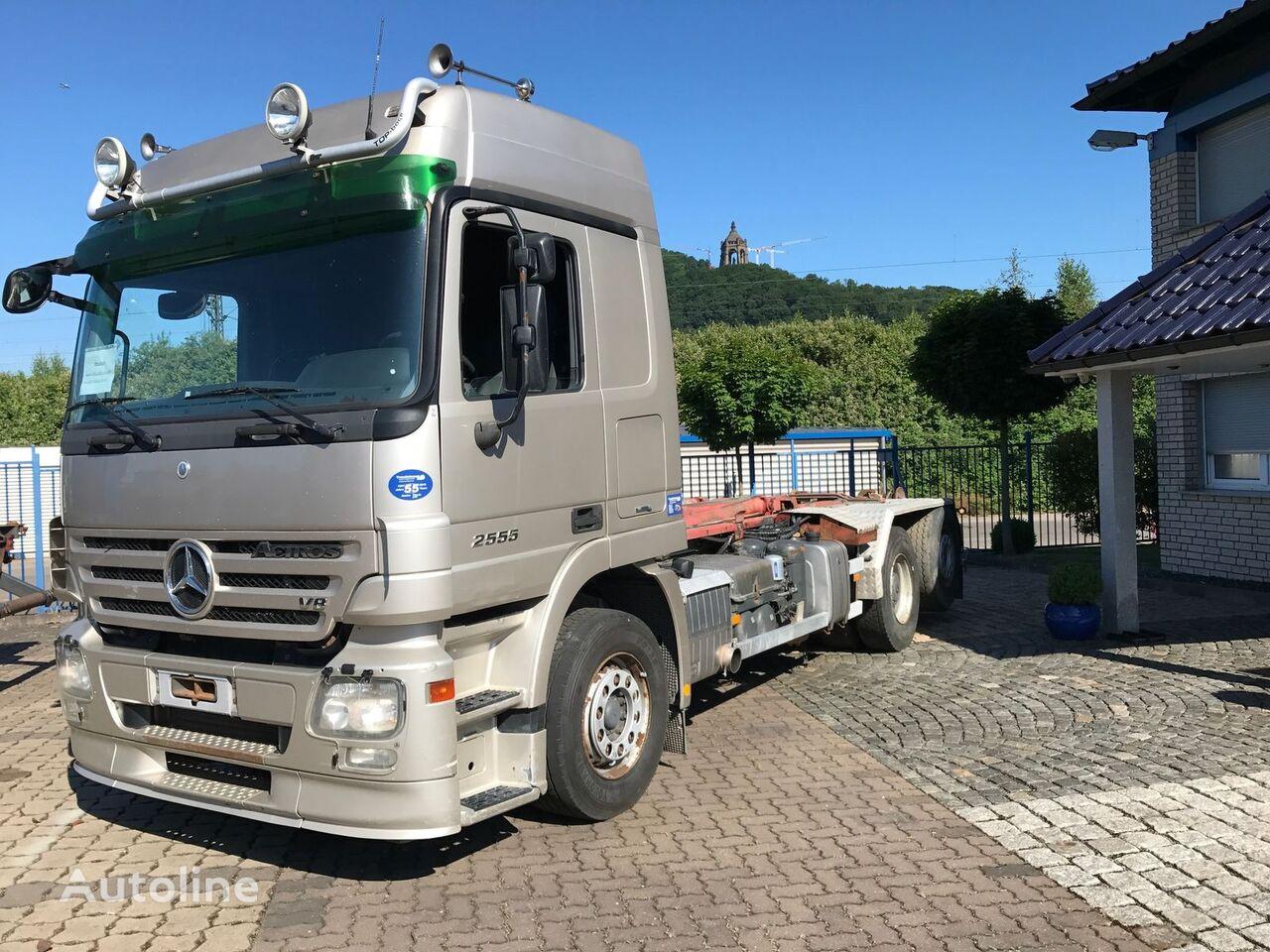 MERCEDES-BENZ 2555 L, 6X2,  Actros MP II, Mega, gelenkte Nachlauf-Liftachse kamion rol kiper