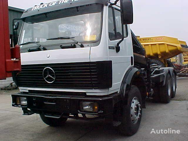 MERCEDES-BENZ 2629 K 6x4 Haak + kraan kamion rol kiper