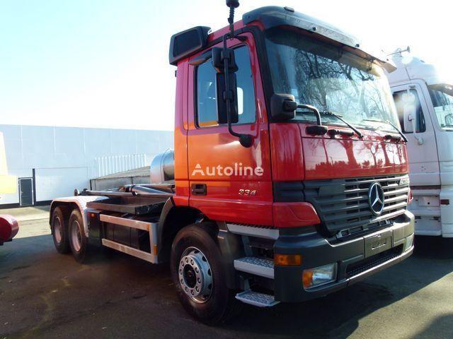 MERCEDES-BENZ 2640 K Haaksysteem LEEBUR / 3 Pedals kamion rol kiper