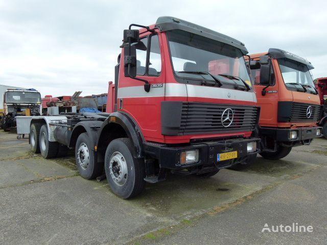 MERCEDES-BENZ SK - 3635 K / 8x4 kamion rol kiper
