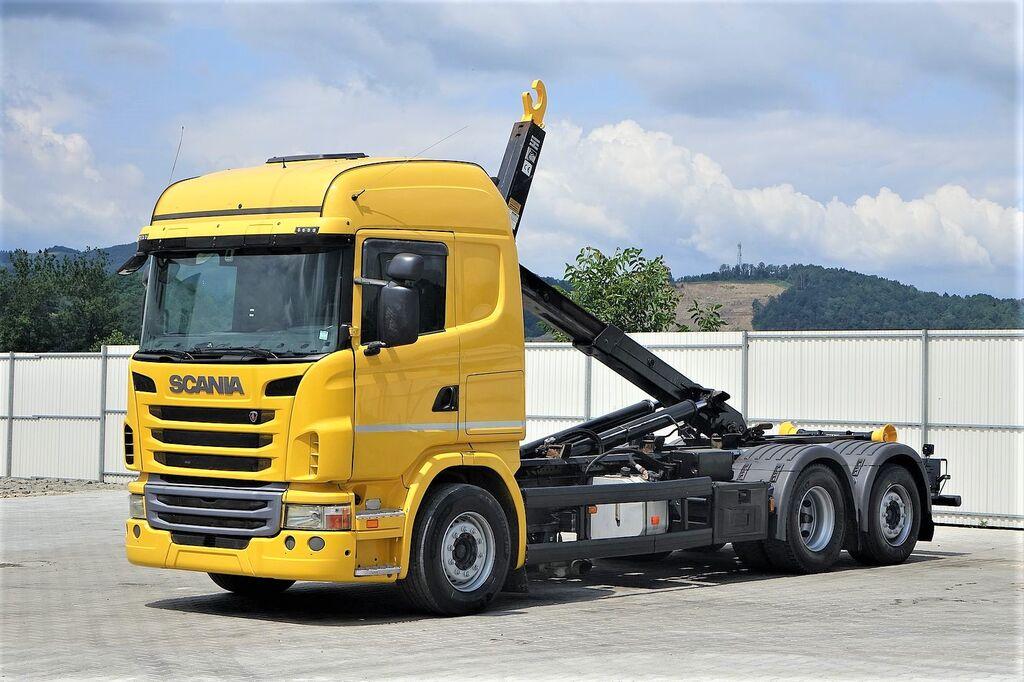 SCANIA G380 Abrollkipper 5,80m  kamion rol kiper