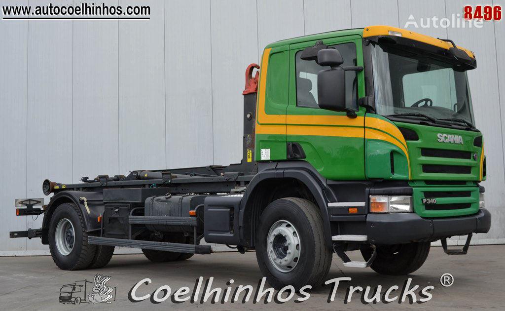 SCANIA P 340 // Big Axle kamion rol kiper