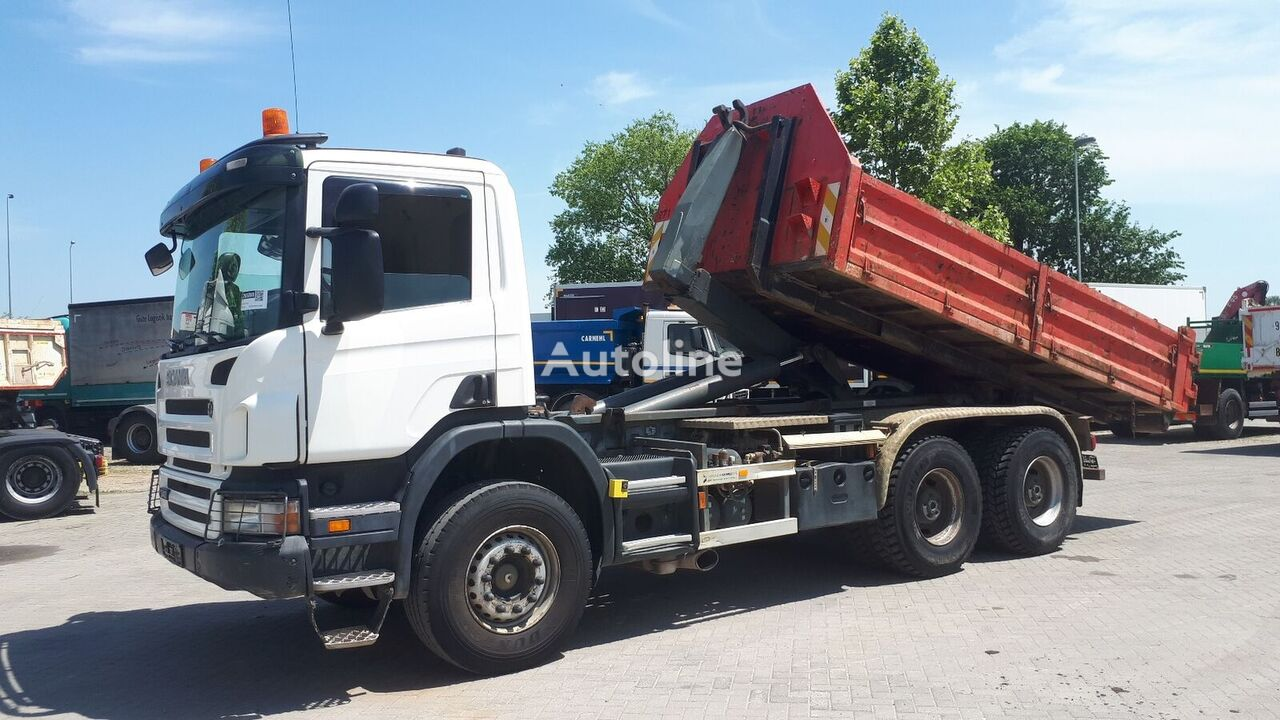 SCANIA P340 6X4 / EU BREIF kamion rol kiper