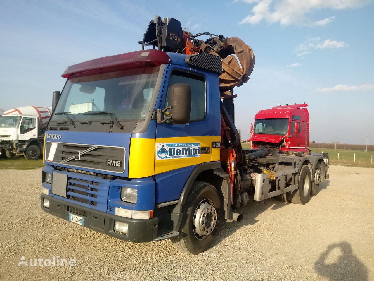 VOLVO FM 12.420 kamion rol kiper