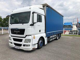 MAN TGX 24.440 flatbed kamion s ceradom