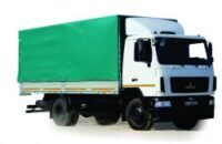 novi MAZ 534026 kamion s ceradom
