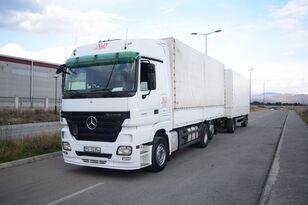MERCEDES-BENZ ACTROS 2544 kamion s ceradom + prikolica sa ceradom
