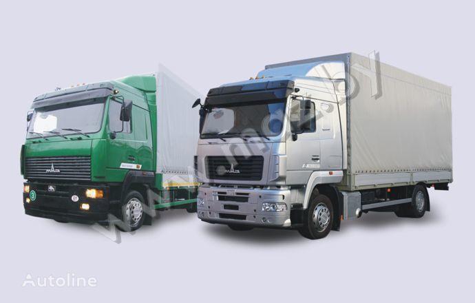 novi MAZ 5340 (19, E9) kamion s ceradom