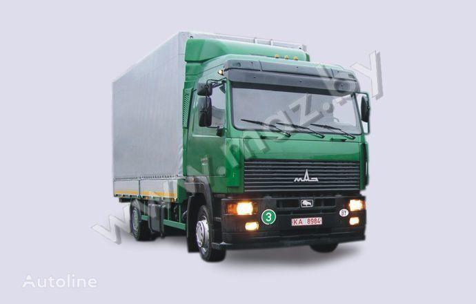 novi MAZ 5340A8 kamion s ceradom