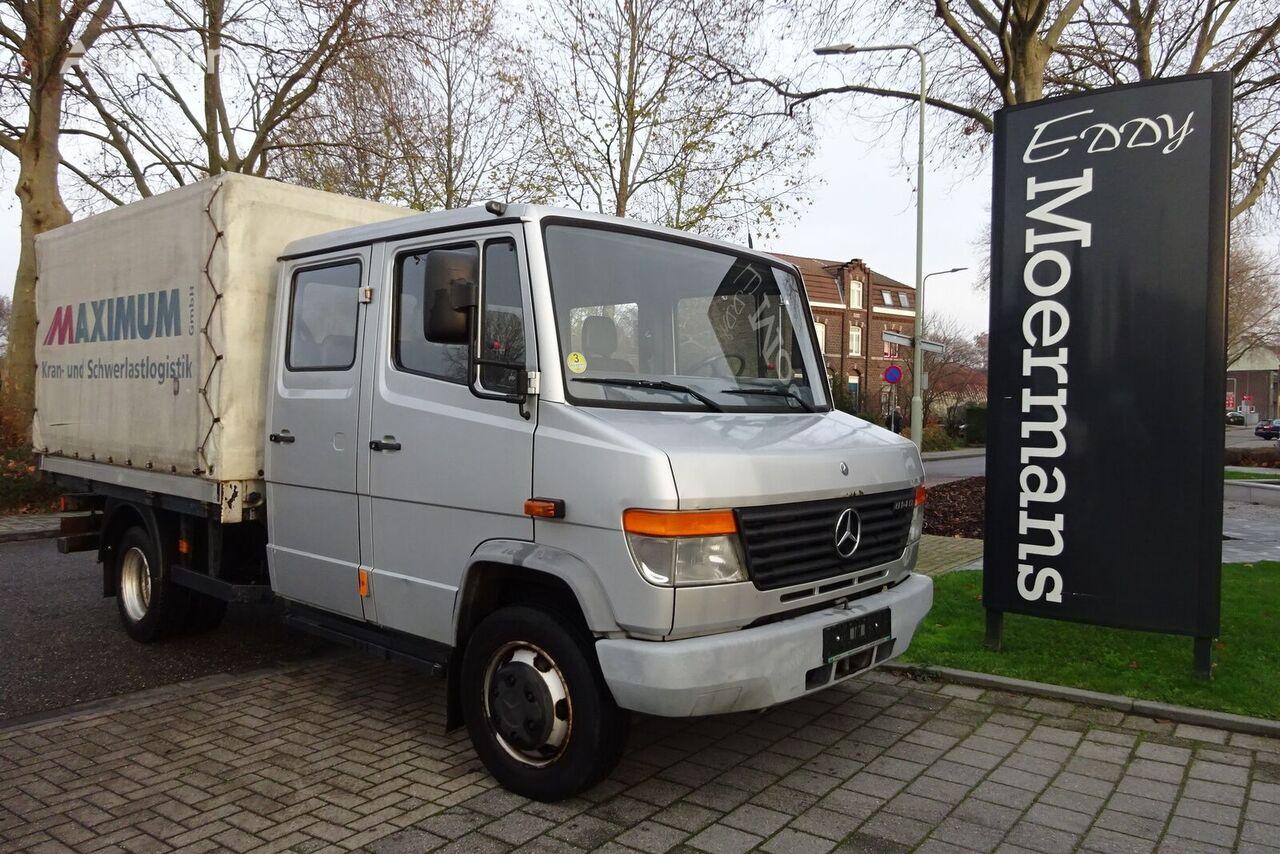 MERCEDES-BENZ 814D Double Cabin kamion s ceradom