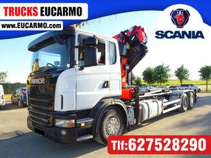 SCANIA G 420 kamion s ravnom platformom