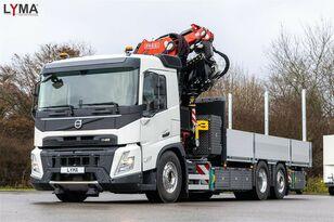 novi VOLVO FASSI F545RA2.27L214 - 6x2  SOFORT!!! NOW!!! kamion s ravnom platformom