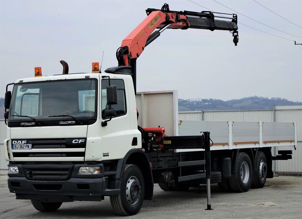 DAF CF 75.310  kamion s ravnom platformom