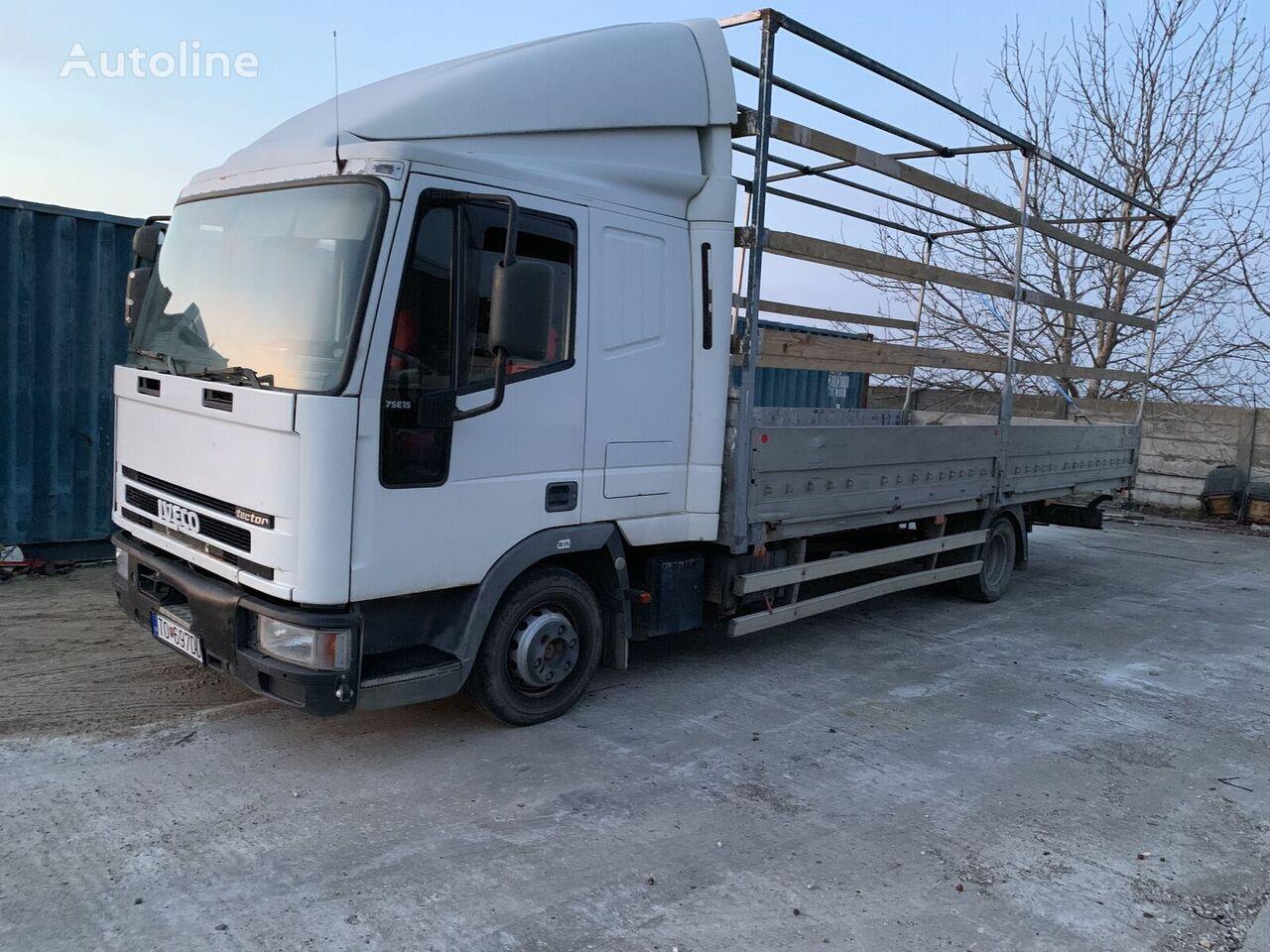 IVECO 75E15 kamion s ravnom platformom