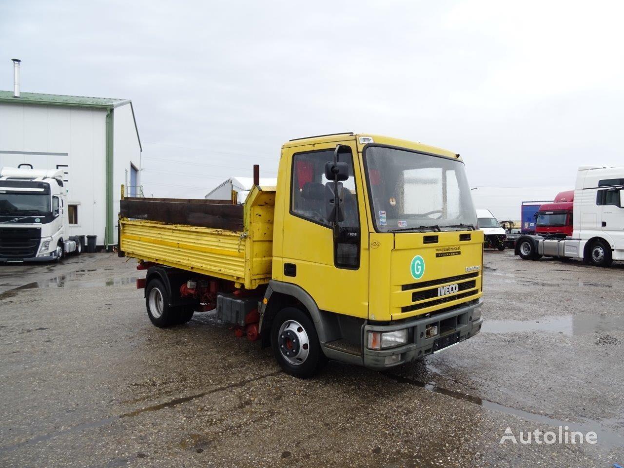 IVECO EUROCARGO 75E14  kamion s ravnom platformom