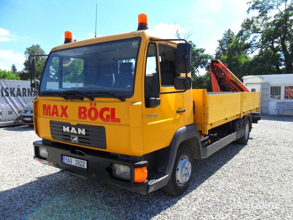 MAN LE 8.180 RUKA PK4501 kamion s ravnom platformom