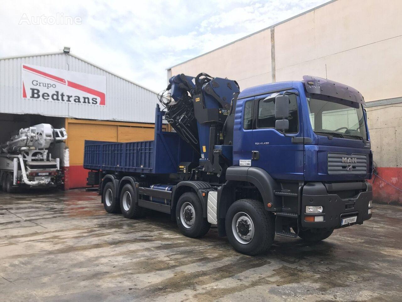 MAN tga 41.430 kamion s ravnom platformom