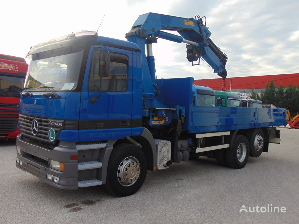 MERCEDES-BENZ 2535 L ACTROS  kamion s ravnom platformom