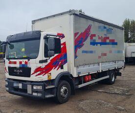 MAN TGM 15.250 from FR, 214000 km kamion sa kliznom ceradom