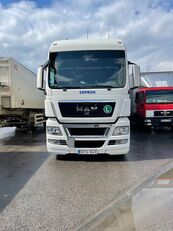 MAN TGX 24.440 kamion sa kliznom ceradom + prikolica sa kliznim ceradom