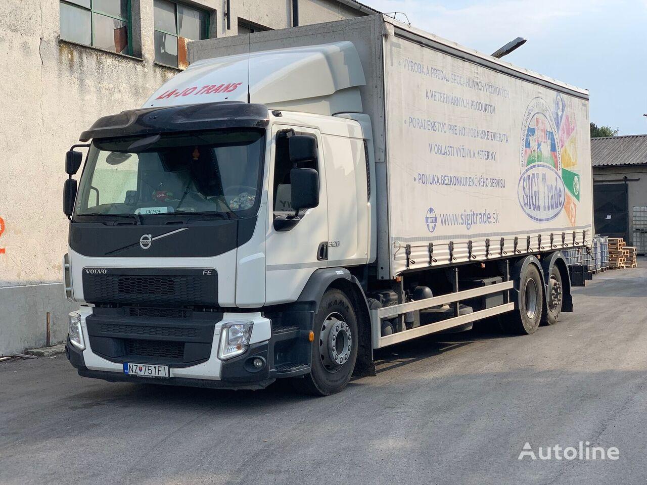 VOLVO FE 320 EURO6 kamion sa kliznom ceradom