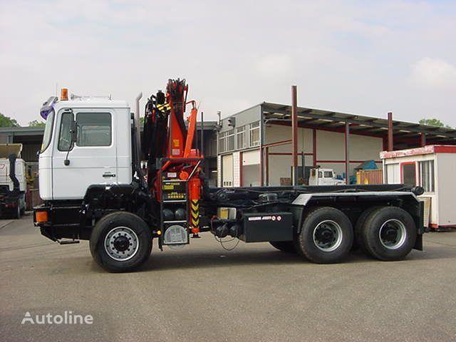 MAN 27.362 DFA - 6x6 kamion sa kukom za podizanje tereta