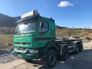 RENAULT KERAX 420 DCI, Manual Gearbox, Steel/Steel Suspension kamion sa kukom za podizanje tereta