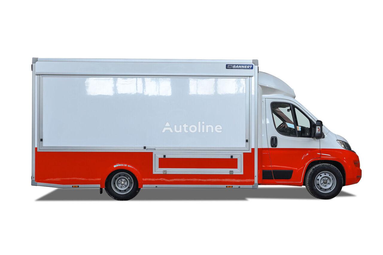 novi FIAT Grill Kurczak Food Truck Handlowy kamion sandučar