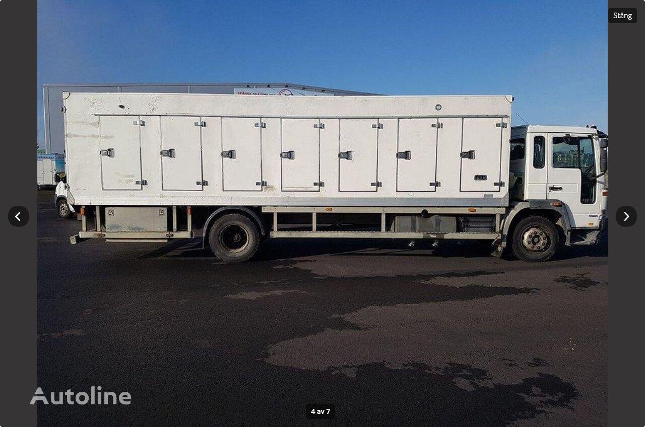 VOLVO  FL615 4X2 freezer kamion za dostavu sladoleda