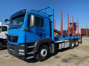 MAN TGS 26.480 kamion za prijevoz drva