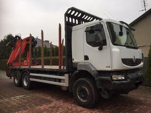 RENAULT Kerax 450 DXI kamion za prijevoz drva