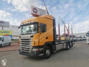 SCANIA 420 kamion za prijevoz drva