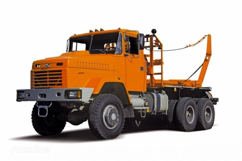 KRAZ 64372 tip 2  kamion za prijevoz drva