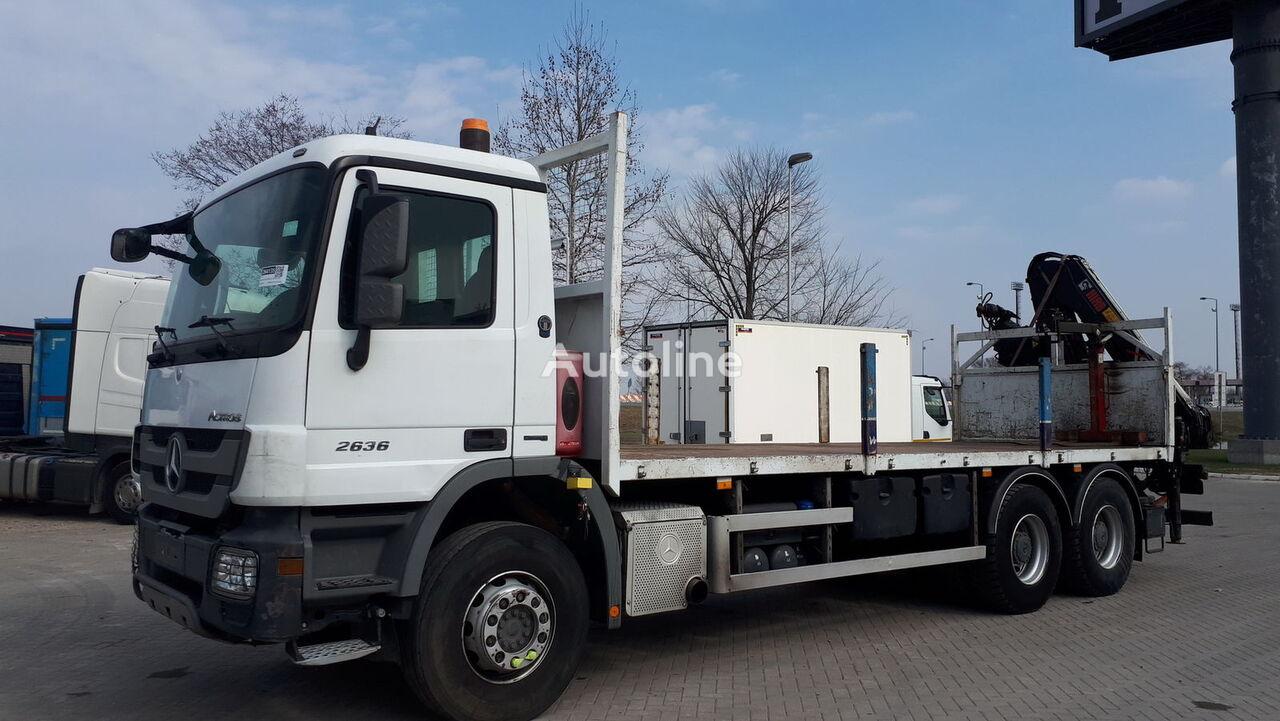 MERCEDES-BENZ 2636  kamion za prijevoz drva