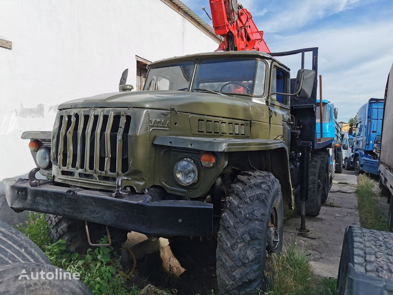 URAL HYAB kamion za prijevoz drva