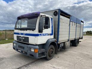 MAN 14.224 4x2 Animal transport kamion za prijevoz stoke