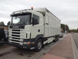 SCANIA 164G 480 kamion za prijevoz stoke