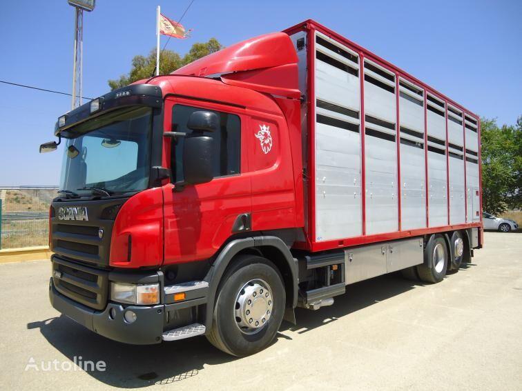 SCANIA P 380 kamion za prijevoz stoke