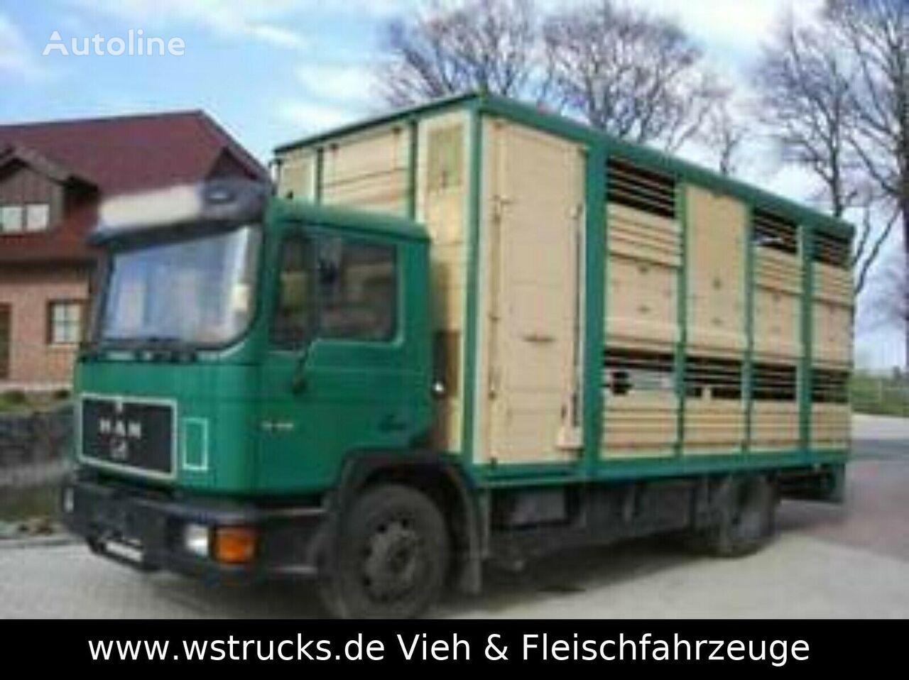 MAN 14232  KABA Doppelstock kamion za prijevoz stoke