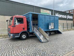 MAN TGL 8.210 BL  Menke , 2 x AHK , TOP,  Tier, Viehtransporter kamion za prijevoz stoke