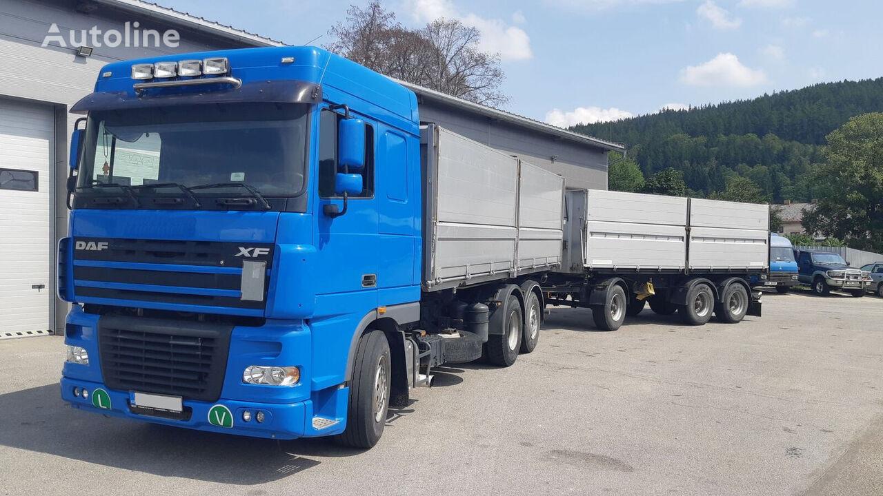 DAF 95XF 430 kamion za prijevoz zrna + prikolica za prijevoz zrna