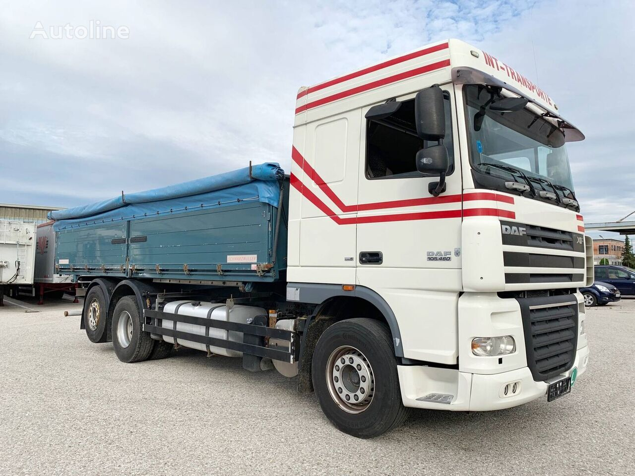 DAF XF105 kamion za prijevoz zrna