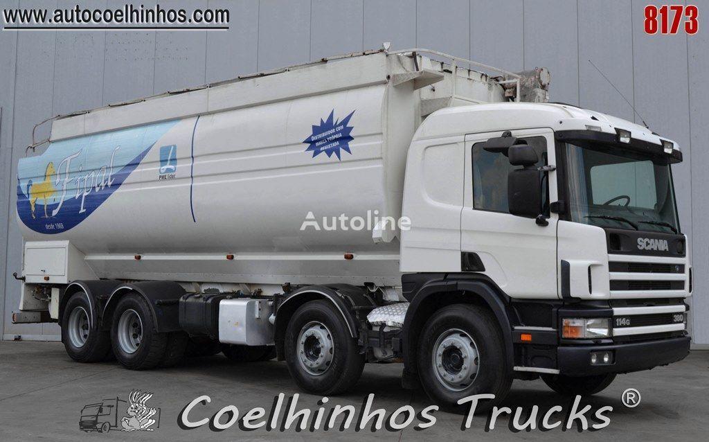 SCANIA 114G 380   kamion za prijevoz zrna