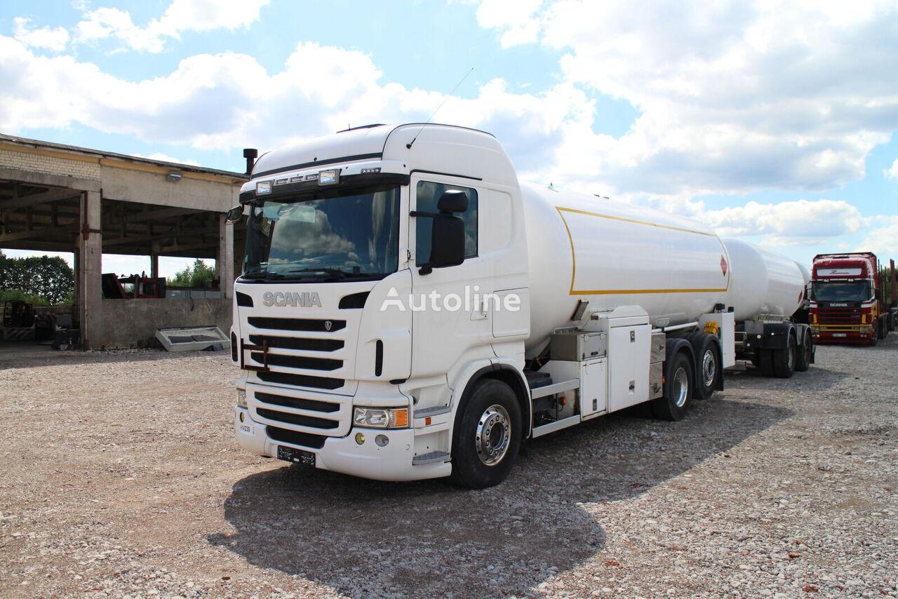 SCANIA R480, kamion za transport gasa