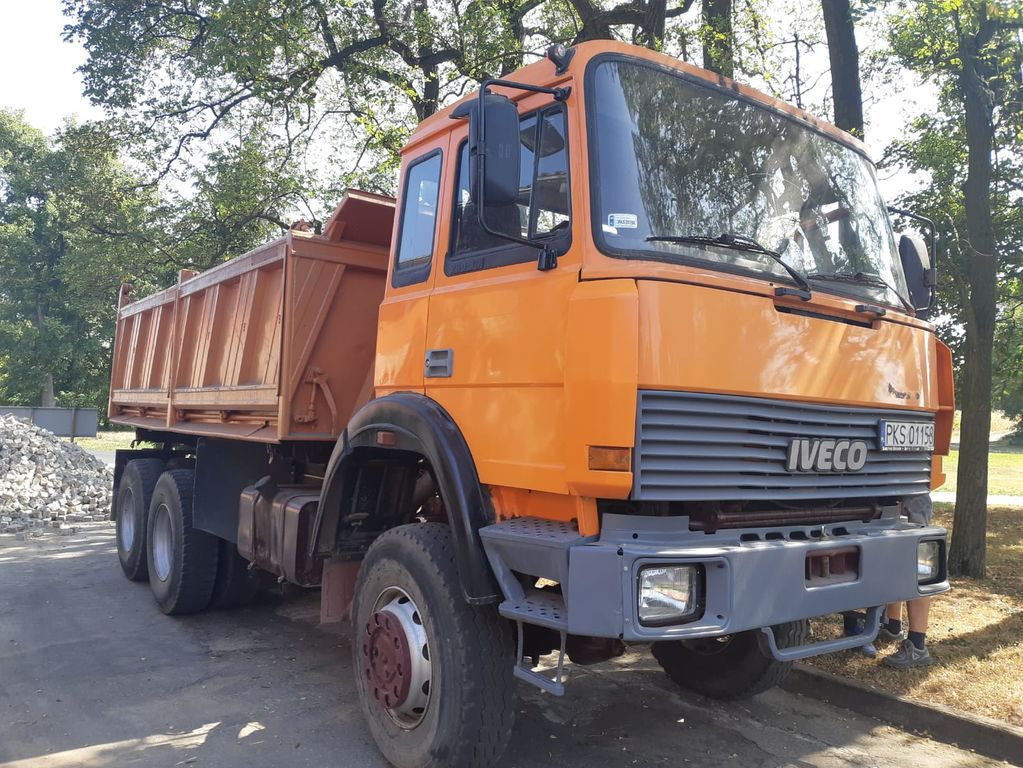 IVECO 330-30, 6x6!!!!Full Steel, Manual ZF , Big Axle, NO RUST kiper