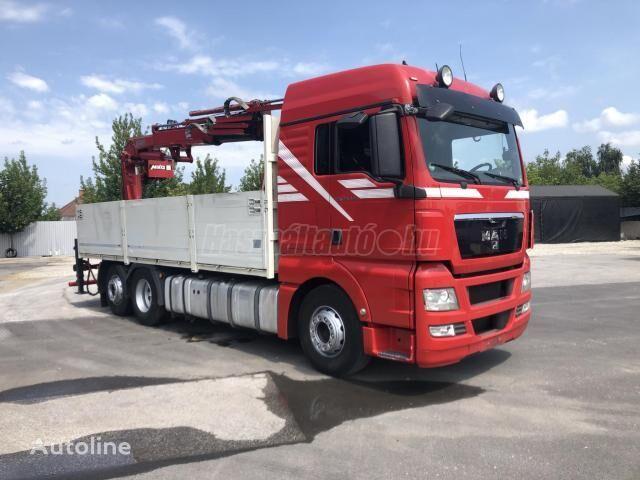 MAN TGX 26440 BOGI DARU 20m/300kg!! kiper