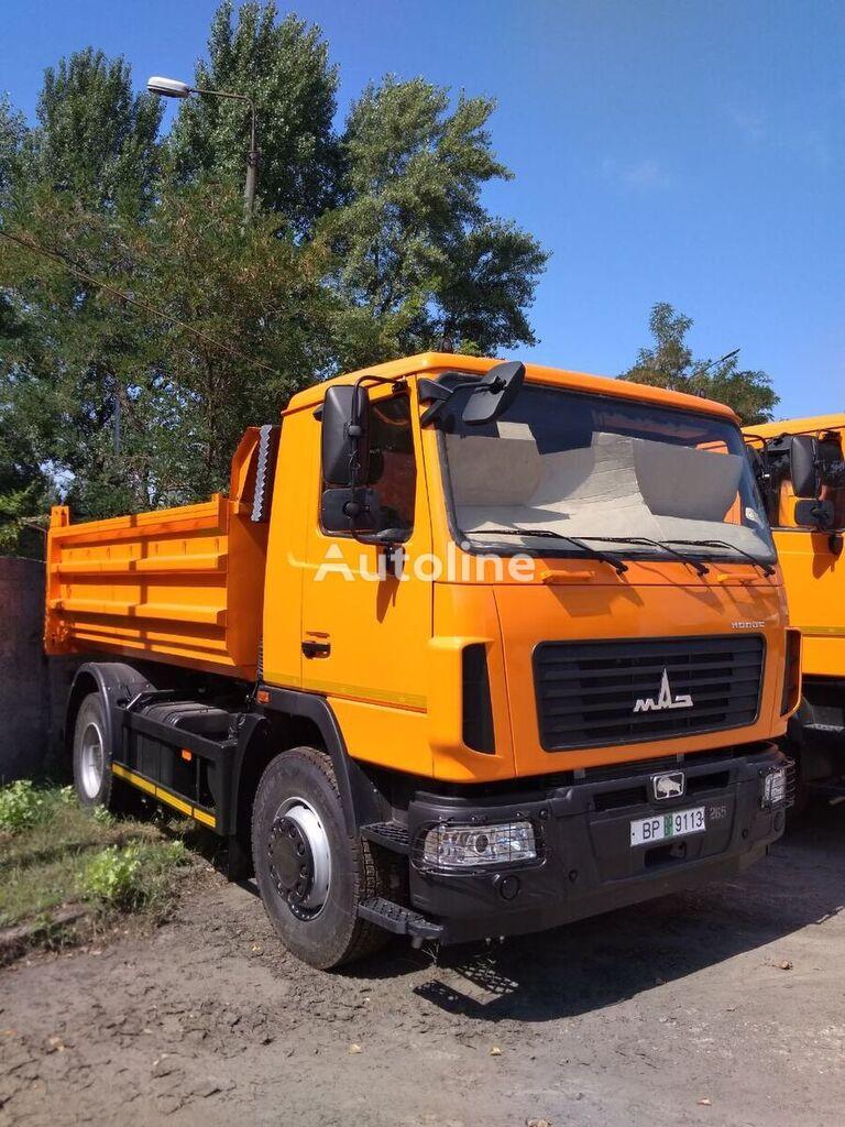novi MAZ 5550S3 kiper