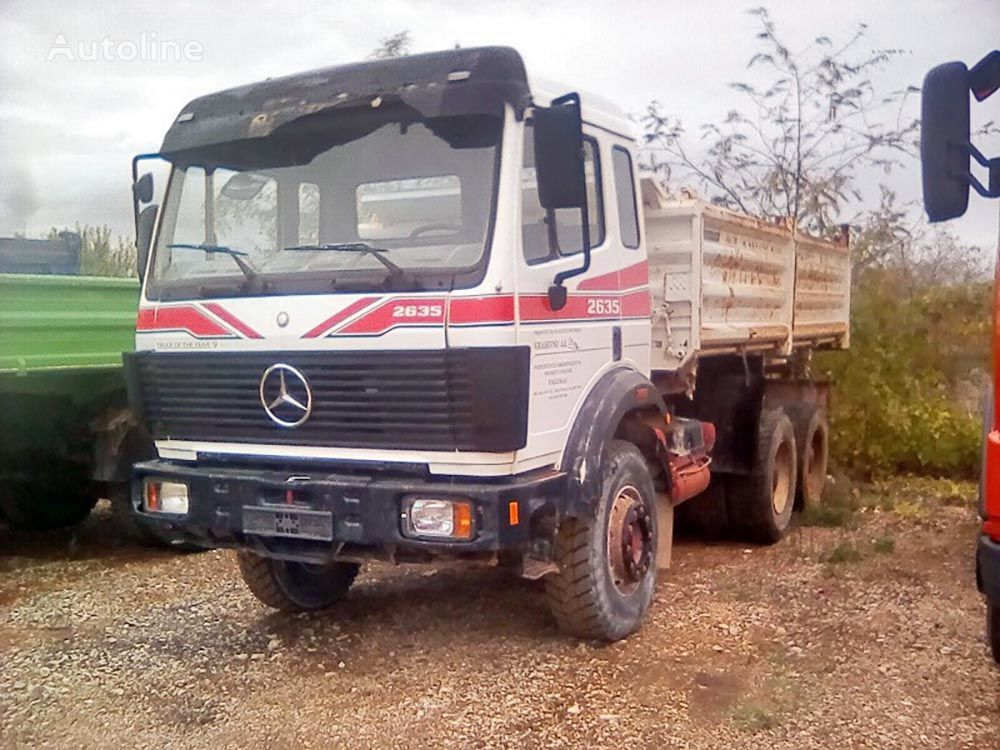 MERCEDES-BENZ 2635 kiper